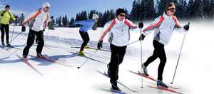 Cross-country skiing, a winter activity excellent for health!